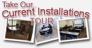 Take our Current Installations Tour