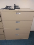 PRE-OWNED HON 694LL 4-DRAWER LATERAL FILE