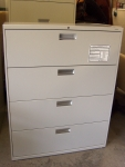 PRE-OWNED HON 694LQ 4-DRAWER LATERAL FILE