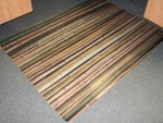 118592 BAMBOO-PRINT CHAIRMAT (FOR CARPET)