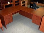 IOF SP6678R 66x78 DESK - WILD PEAR