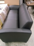 LORELL LLR 68950 LEATHER SOFA