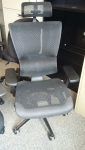 EUROTECH i00 HIGHBACK MESH W/HEADREST