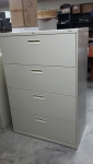 PREOWNED HON 584LL 4-DRAWER LATERAL FILE