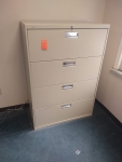 PRE-OWNED HON 684LL 4-DRAWER LATERAL FILE