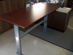 CUSTOM ELECTRIC HEIGHT ADJUSTABLE WORKSTATION/TABLE