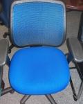 EUROTECH APOLLO MT9400 BLUE MESH BACK CHAIR
