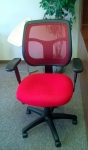 EUROTECH APOLLO MT9400 RED MESH BACK CHAIR