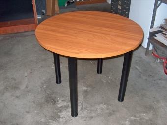 IOF RPL36 ROUND TABLE CAPPUCCINO CHERRY