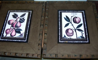 PRE-OWNED FRUIT ART - FRAMED