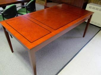 MAYLINE STD72 CHERRY VENEER TABLE DESK