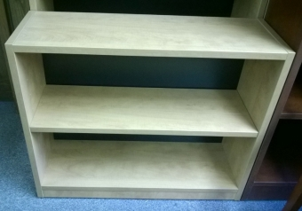 CUSTOM C25582 2-SHELF BOOKCASE