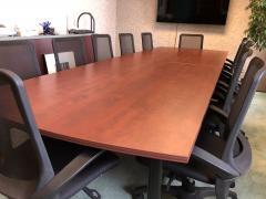 12' ARC END CONFERENCE TABLE