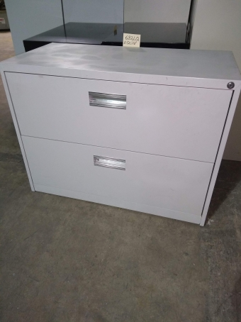 PRE-OWNED HON 682LQ 2-DRAWER LATERAL FILE