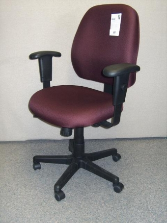 EUROTECH 49802AFJ CHAIR - BURGUNDY