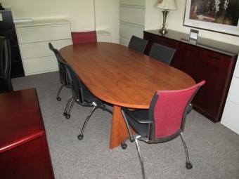 IOF RAPB4296 8FT RACETRACK TABLE