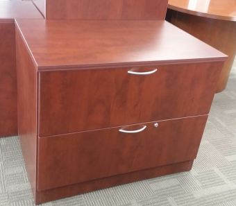 IOF UN3624LF 2-DRAWER LAMINATE LATERAL FILE