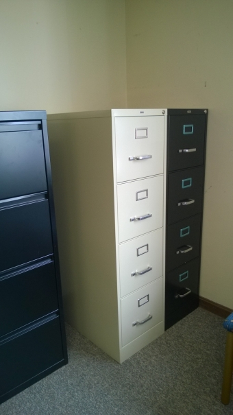 LLR 60193 4-DRAWER VERTICAL FILE