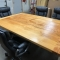 5' X 14' RUSTIC CONFERENCE TABLE (Image 3)