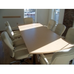 Custom Arc End Conference Table