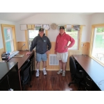 York Harbormaster Don Day and Assistant  David Hutchins