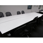 Tables can be joined for conference room
