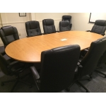 5' X 10  CUSTOM CONFERENCE TABLE