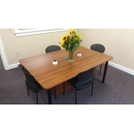 MEETING ROOM TABLES WITH USB AND POWER PORTS